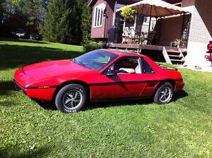 1984 Pontiac Fiero - SOLD