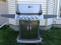Natural gas or propane high quality BBQ