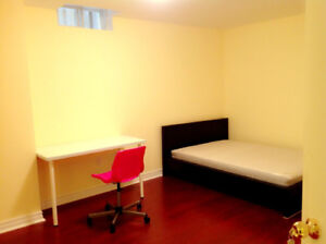 Master bedroom with private washroom. Hwy407/Kennedy.Warden. IBM