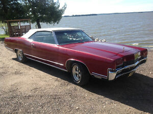 1969 Mercury Marquis 429 Convertible fully loaded with options