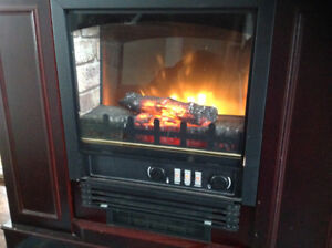 Electric fire place and  mantel 750w/1500w
