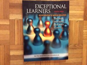 Exceptional Learners: An Introduction to Special Education, Cana