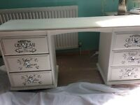 Annie Sloan original white dressing table
