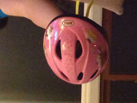 Girls bike helmet-toddler small