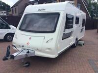 Elddis Xplore majestic 506 caravan 2013 6 berth One owner from new full service