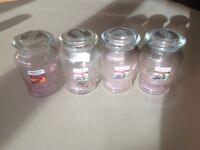 Yankee candle empty jars