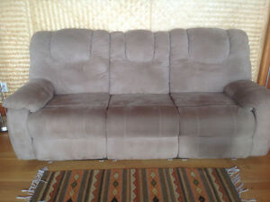 Lazy boy type reclining couch