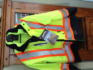 Work jacket coveralls and Safety Jacket