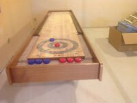 Shuffleboard Table - like new