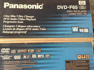 Panasonic 5 Disc Changer DVD Player 20$