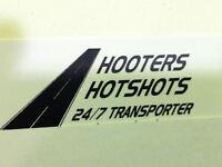 HOOTERS HOTSHOT SERVICE
