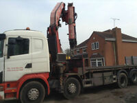 SCANIA R SERIES DRAW-BAR WITH FASSI 60T METER CRANE 7 & TANDEM AXLE