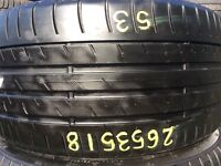265/35/18 . TYRE SHOP . FREE FITTING . used tires . Partworn summer tyres . 265/35R18