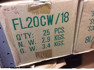 CASE OF FL20CW/18 FLUORESCENT TUBES.....NEW BOXED