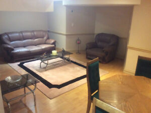 Large, cozy basement apartment in upscale Vaughan.