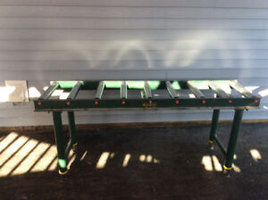 Steel Roller Tables for Heavy Tools