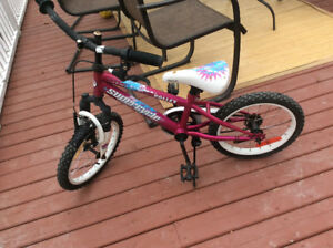 5 year old girls bike