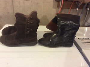 2 Pairs of Women's 9 Winter Boots