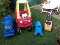 Little Tykes toys for garden
