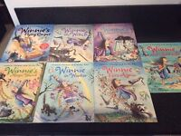 Winnie the Witch Story Books - 7 books - As new condition (Bonus story and music cd)