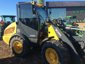 JOHN DEERE 304 K LOADER DEMO CLEARANCE SALE