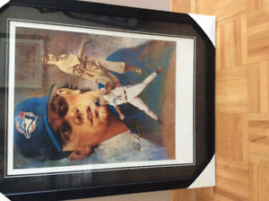 Pat Hentgen Blue Jays framed/signed Print
