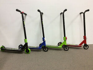 Trick Scooters @ Bicycle World and ready for Christmas