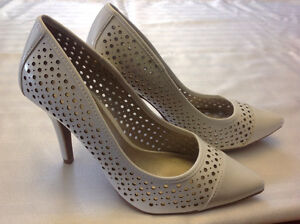 Brand new size 6.5 Christian Siriano white shoes