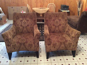 Wing back chairs excellent price