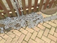 Security chain cut to your lenth