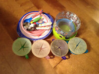 Snack Traps, Bowls & Spoons