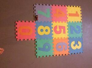 Childrens floor tiles