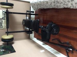 Appareil d'entraînement musculaire Everlast-Bench press kit