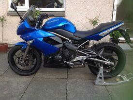 Kawasaki ER6F 2009 motorbike