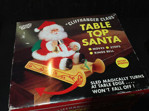 Vintage Santa's Best CLIFFHANGER SANTA CLAUS - NEW IN BOX Cambridge Kitchener Area image 4
