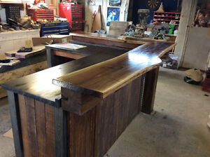hand crafted timber frame islands and bars Cambridge Kitchener Area image 10