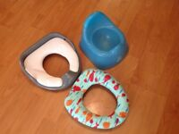 Toilet seat only £5 for all 3 item.