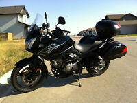 Suzuki DL650 V-Strom With Bags