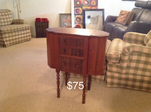 Antique Knitting/Sewing cabinet London Ontario image 1