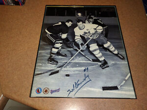 Toronto Maple Leafs Ted Kennedy Autograph 8x10