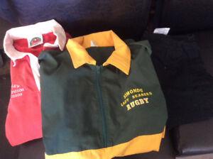 Ladies rugby gear