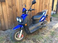 Yamaha bws 50cc scooter for sale