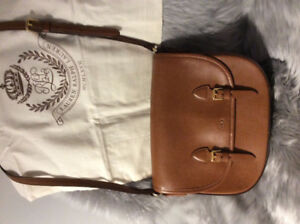 Ralph Lauren Leather Crossbody, Excellent Like New Condition