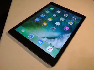 Mint Condition Space Grey Apple iPad AIR