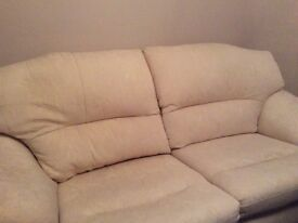 Settee and 2 seater love seat.