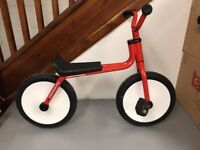Kids retro pedal bike