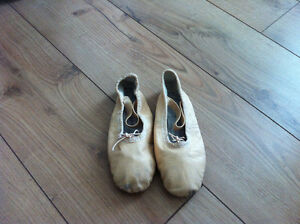 pink ballet shoes size 10 and 11 Strathcona County Edmonton Area image 2