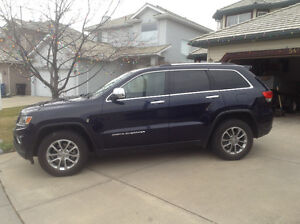 2014 Jeep Grand Cherokee limited low kms!!!