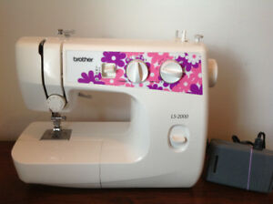 Brother sewing machine - new condition