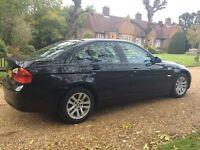 BMW 3 SERIES 2007 4 DOOR SALLON 318 DIESEL GREAT SPEC DRIVES PERFECT !!!mercedes audi